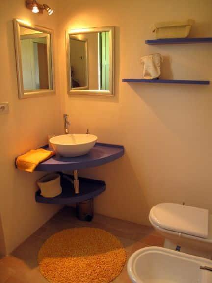 Badkamer appartement Tramonto