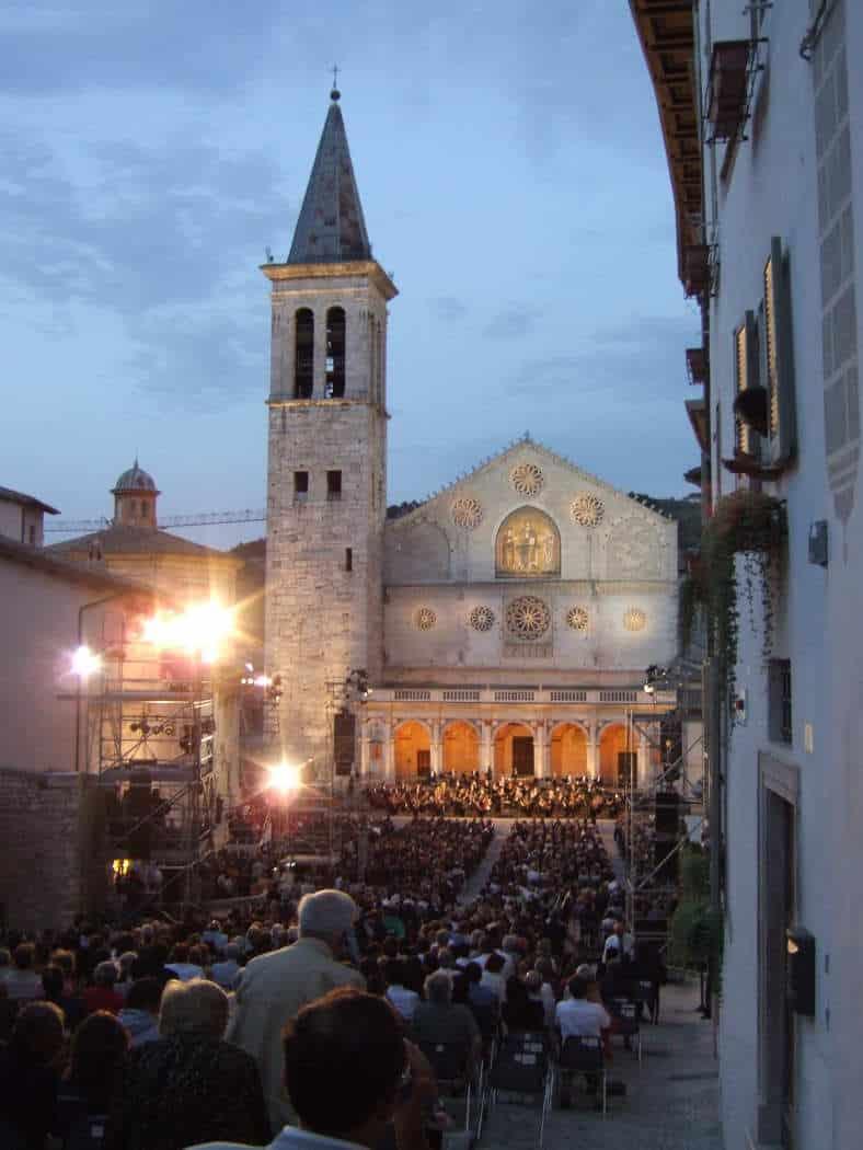 Festival in Spoleto