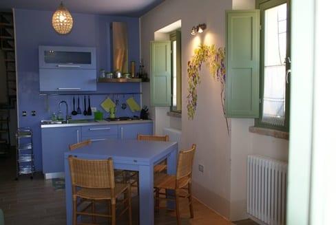 Keuken appartement Aurora