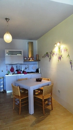 Keuken appartement Mezzogiorno
