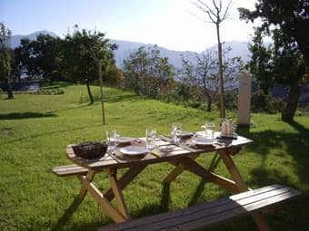 Picknick tafel appartement Tramonto