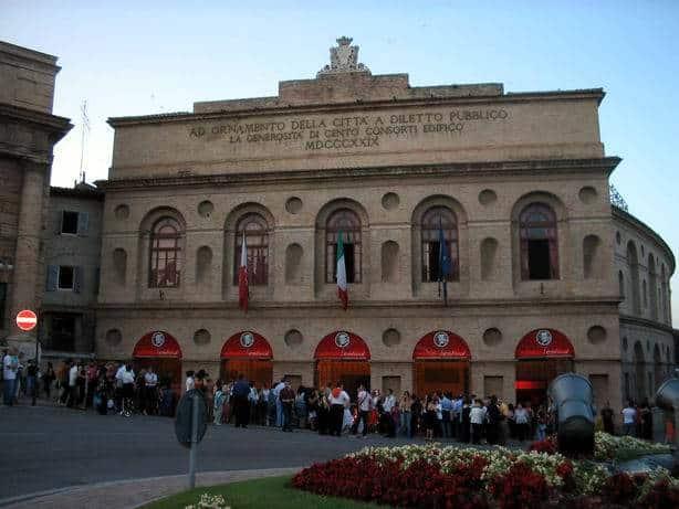 Sferisterio festival Macerata