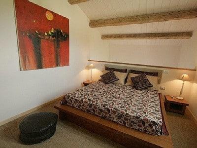 Slaapkamer appartement Tramonto