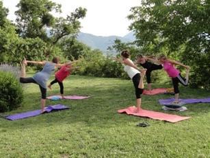 Yoga op landgoed Vellaneta
