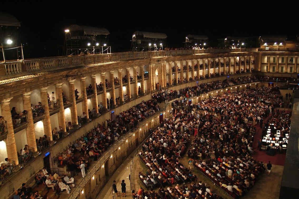 Opera festival Sferisterio Macerata Le Marche